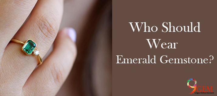 Who should wear emerald gemstone