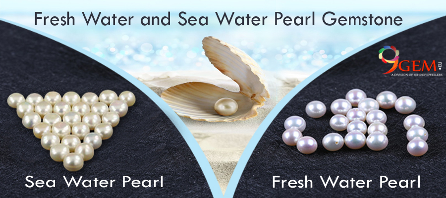 Difference between fresh water and south sea pearl