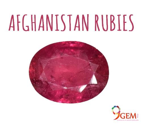 Afghanistan Ruby