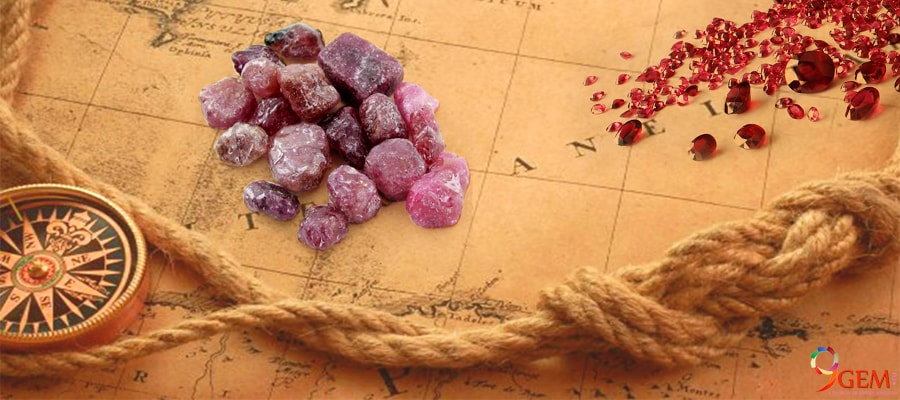 Ruby Gemstone That Found From Different Origins All Over The World